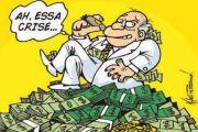 EM MEIO À CRISE, QUATRO GRANDES BANCOS LUCRAM R$ 20,85 BILHÕES
