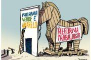 MP VERDE-AMARELA REVOGOU 37 PONTOS DA CLT E ALTEROU TRECHOS DE OUTRAS 22 LEIS E DECRETOS
