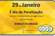 29 DE JANEIRO, É DIA DE PARALISAÇÃO